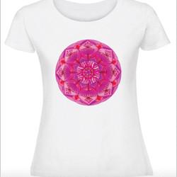Дамска тениска Мечтите стават реалност - Розова