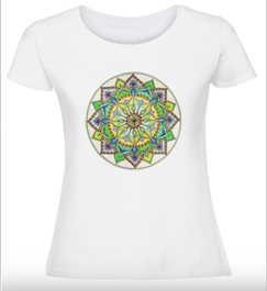 Дамска тениска Сърдечна чакра