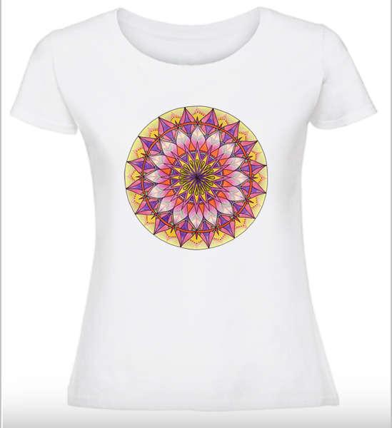 Дамска тениска с Мандала - Женска енергия