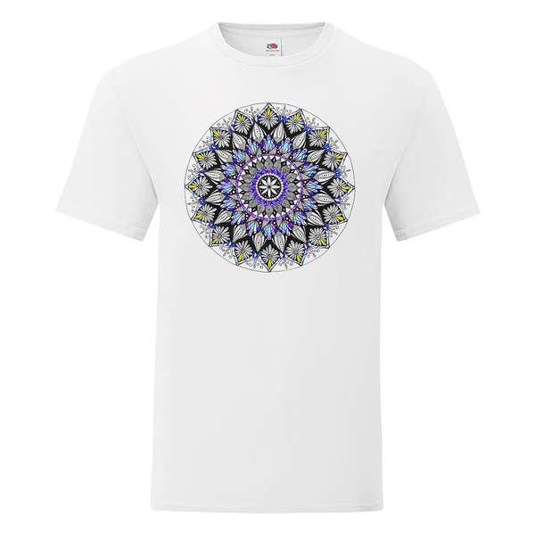 Мъжка, дамска тениска с Мандала за защита