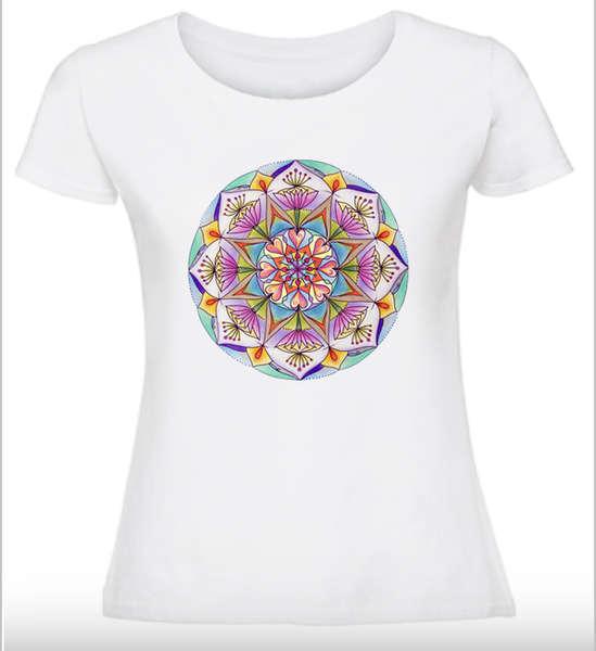 Дамска тениска с Мандала - Мечтите стават реалност
